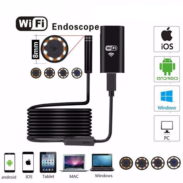 Wifi Endoscope Camera 720P