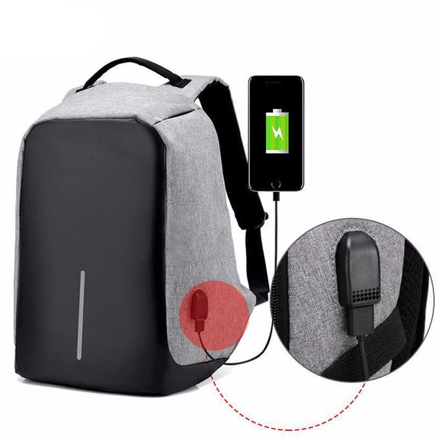 Best Travel Antitheft USB Charging Backpack - Capris™