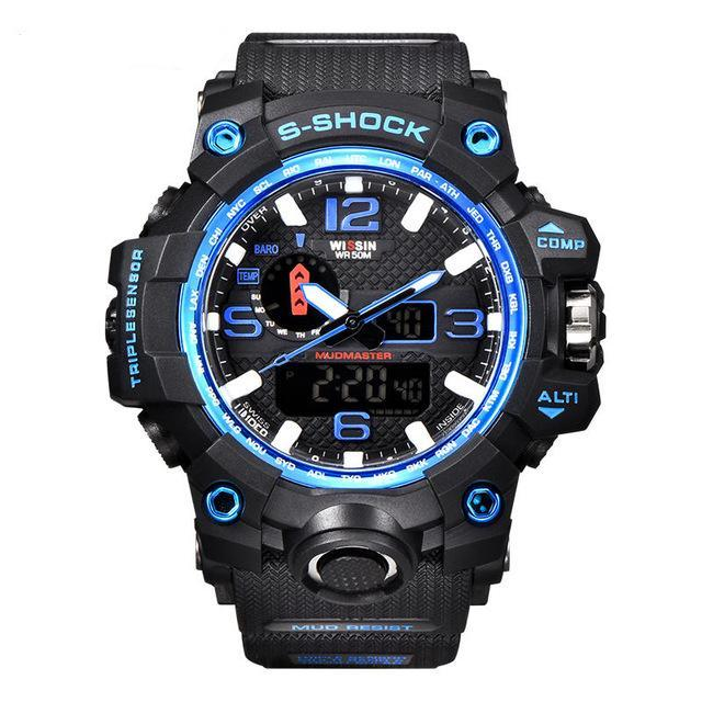 Army Men's Watch - G Shock Style