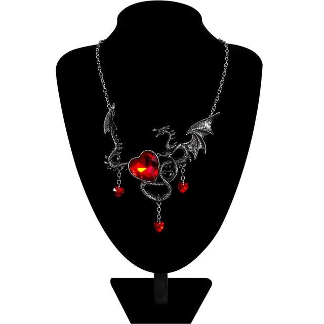 October Dragon Necklace