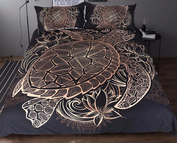 Luxury Turtles Bedding Set
