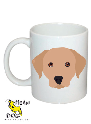 MEAN YELLOW DOG | MUGS FOR PET LOVERS