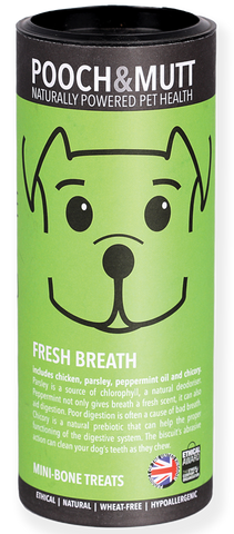 Tubo Snacks FRESH BREATH  (HIGIENE ORAL & TÁRTARO)
