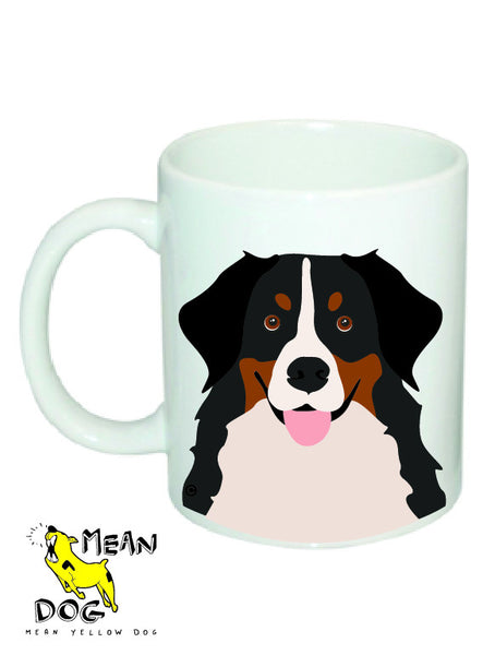 Mean Yellow Dog - MUG005 - BOUVIER BERNOIS