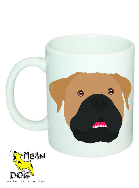 Mean Yellow Dog - MUG007 - BULLMASTIFF
