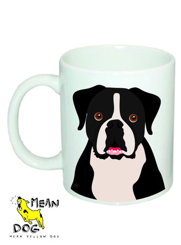 Mean Yellow Dog - MUG008 - BOXER