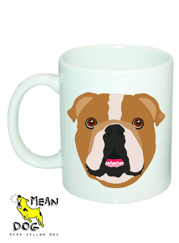 Mean Yellow Dog - MUG012 - ENGLISH BULLDOG