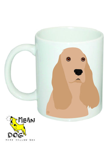 Mean Yellow Dog - MUG013 - COCKER