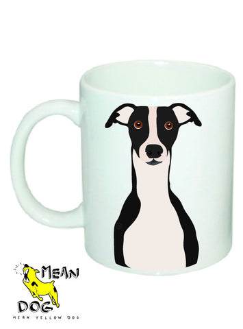 Mean Yellow Dog - MUG022 - GREYHOUND BLACK
