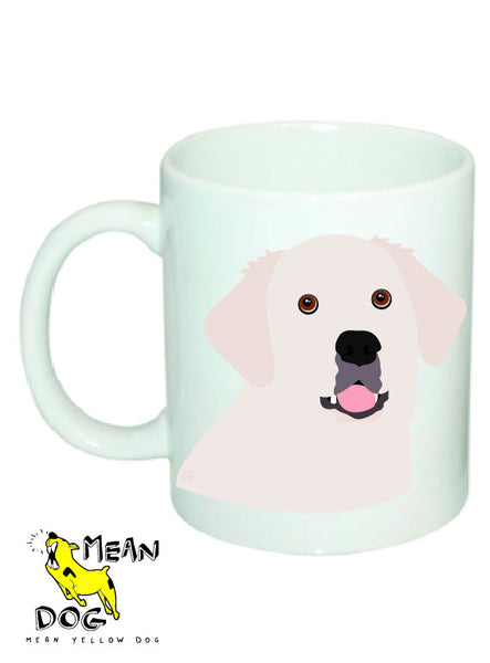 Mean Yellow Dog - MUG024 - GOLDEN RETRIEVER