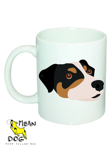 Mean Yellow Dog - MUG025 - JACK RUSSELL