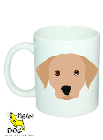 Mean Yellow Dog - MUG026 - LABRADOR