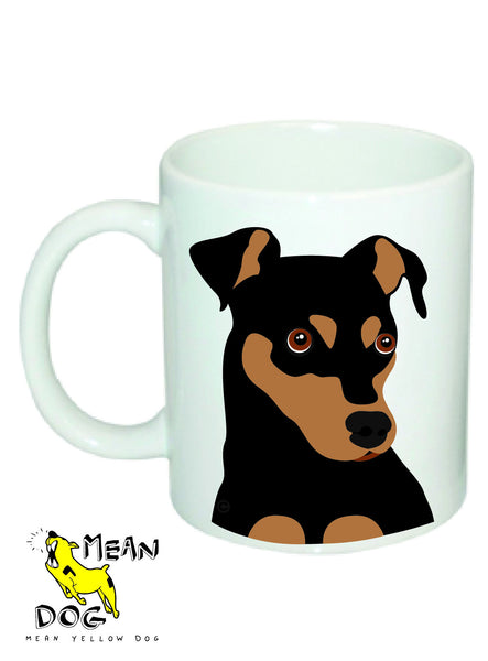 Mean Yellow Dog - MUG031 - PINSCHER