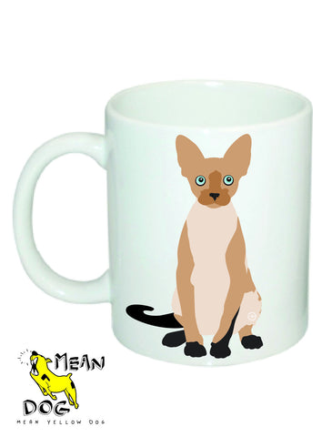 Mean Yellow Dog - MUG049 - SIAMESE
