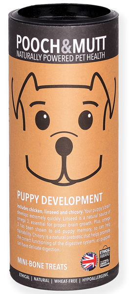 Tubo Snacks PUPPY DEVELOPMENT (CACHORROS)