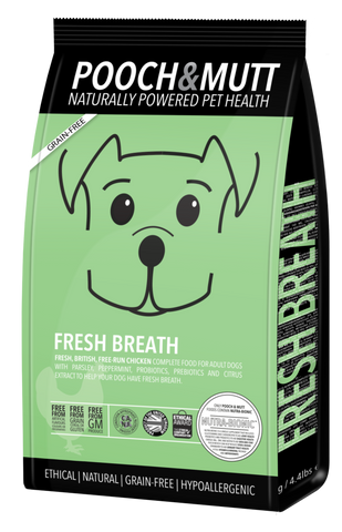 Pooch & Mutt® | Ração FRESH BREATH (HIGIENE ORAL)