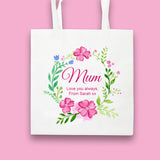 Personalised Blossom Collection Tote Bag