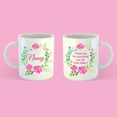 Personalised Blossom Collection Mug