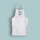 Personalised Floral Alphabet Apron