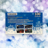 100 LED Multi colour Christmas Lights for indoor/outdoor