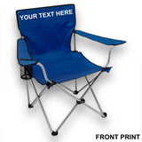 Personalised Folding Camping Chair