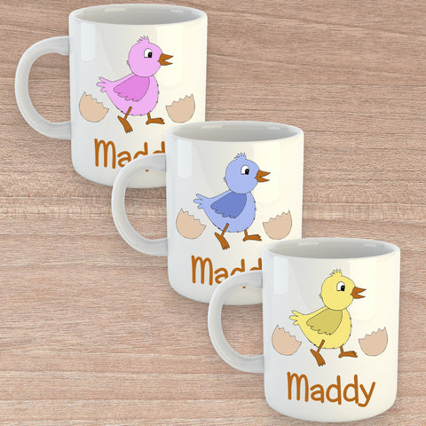 Set of 2 personalised Easter Mugs