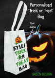 Personalised Halloween Trick or Treat Bag