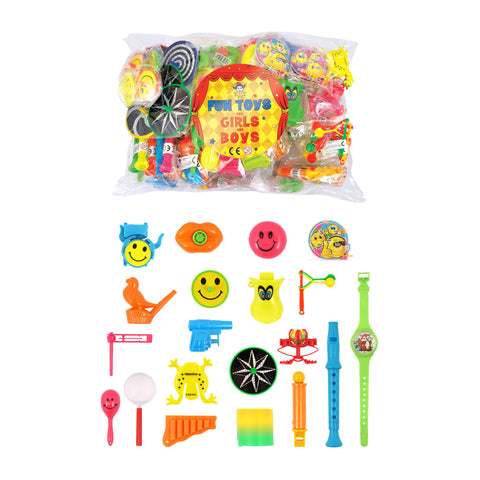 100 Piece Assorted Toys