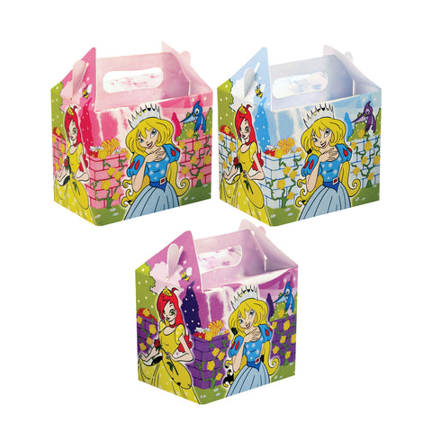 Pack of 6 Princess Lunch Boxes
