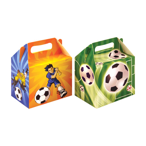 Pack of 6 Football Lunch Boxes