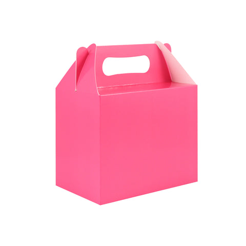Pack of 6 Pink Lunch Boxes