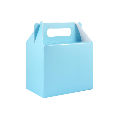 Pack of 6 Light Blue Lunch Boxes