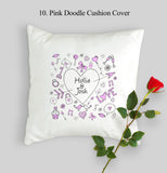 Personalised Valentine's Day Cushion Cover