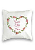 Heart Wreath Collection Cushion Cover