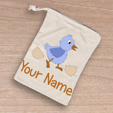 Personalised Easter Treat Bag- drawstring bag