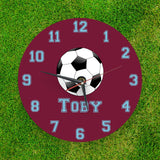 Personalised Football clock