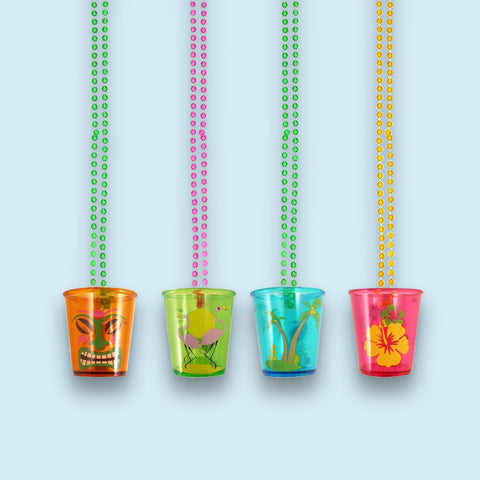 Hawaiian Shot Glasses (pack of eight glasses)