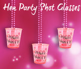 Hen Party Shot Glass