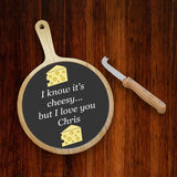 Personalised Cheese Board