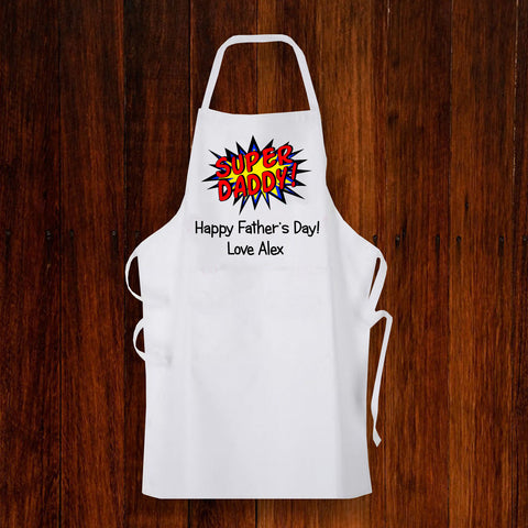 Personalised Apron for Dad