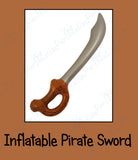 Inflatable Pirate Sword