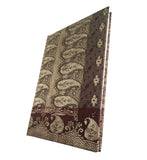 Red & Brown Sari Handmade Paper Journal