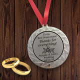 Personalised Medal for Bridesmaid