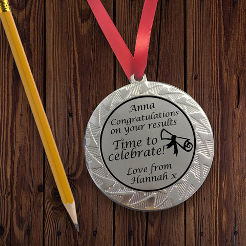Personalised Medal for Congratulations