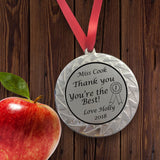 Personalised Medal for Teacher