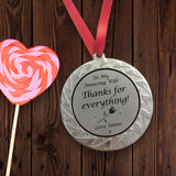 Personalised Medal for Wife
