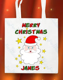 Personalised Christmas Tote Bag