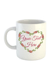 Heart Wreath Collection Mug