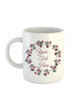Rose Wreath Collection Mug