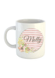 Floral Stripe Collection Mug